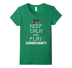 Keep Calm And Play Minecraft Story Mode Game T Shirt - Female Small - Kelly Green ConnectingDOTS http://www.amazon.com/dp/B019O5LIPW/ref=cm_sw_r_pi_dp_7drEwb184QNYH