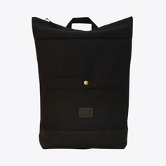 Barrio Backpack in Black By Freibeutler - Fy