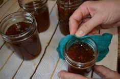 Best Jalapeno and Bell Pepper Jelly ever! It's so easy to home can/preserve this delicious jelly that can be used as a dip, spread - the uses are endless! Jalapeno Jelly Recipes, Jalapeno Pepper Jelly, Red Pepper Jelly, Pepper Relish, Stuffed Jalapeno Peppers, Bell Pepper, Bakery Recipes, Jam Recipes, Recipes