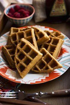 Autoimmune Protocol Waffles made with @ottosnaturals Cassava Flour | Tasty Yummies
