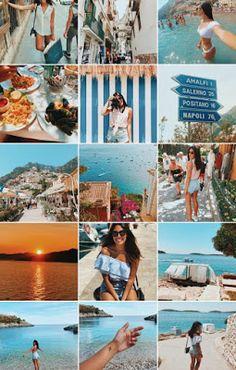 Karol Holanda: FEEDS DO INSTAGRAM PARA SE INSPIRAR Instagram Feed Theme Layout, Instagram Feed Tips, Instagram Insights, Instagram Grid, Instagram Beach, Instagram Pose, Instagram Design, Summer Feed Instagram, Lightroom