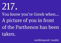 My Life Is Greek