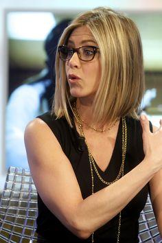 I like Jennifer Aniston's current bob, but I'm afraid it would just make my hair look flat.