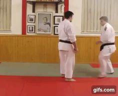 Harai-goshi in karate