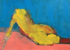 On Blue | acrylic on canvas | 130x100cm (?) | 2011