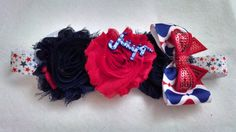 Hey, I found this really awesome Etsy listing at https://www.etsy.com/listing/175293420/fourth-of-july-hairband