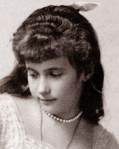 Grand Duchess Anastasia Nikolaevna Romanov, 1914.