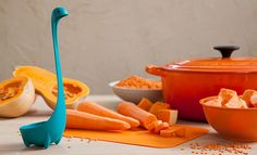 Kitchen Gifts Home Funky Ladle Design Nessie Loch Ness Monster Gadgets Spoons ? Quirky Kitchen, Cool Kitchen Gadgets, Kitchen Items, Cool Kitchens, Kitchen Dining, Awesome Kitchen, Funny Kitchen, Kitchen Products, Kitchen Stuff