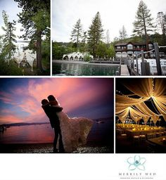 Open Air Tent, Bright Yellow, Pewter Silver and White wedding, West Shore Cafe, Sunset Kiss, Swagging Twinkle Lights