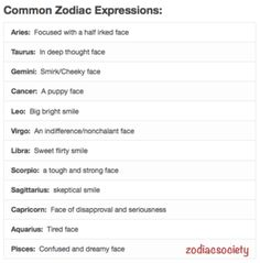 Aries: Expressions.. Lol, when i'm on a mission yes, this is correct. Stay out of my way!!!!!