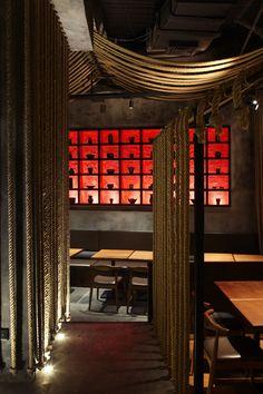 Kemuri Shanghai Restaurant / Prism Design - 谷德设计网