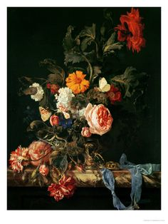 dutch flower painting - Google Search