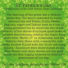 Victorian America Celebrates St. Patrick's Day – Kristin Holt