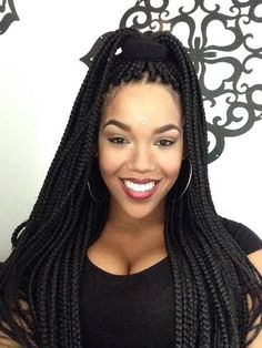 """Cleopatra Braids/ Smedium Box Braids/ My Amazing new Braids- whatever the name they've kept me smiling! """