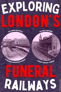 In the 19th century, two railway terminals opened in London (at Waterloo and King's Cross) which were specifically designed for transporting the dead.... This is their story. London History, Cemetery, Transportation, 19th Century, City, Cities