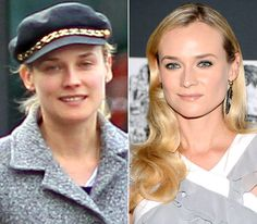 Stars Without Makeup: Diane Kruger-pretty