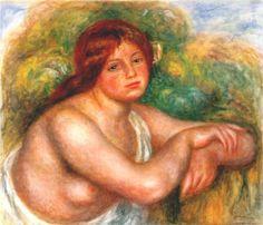 Study of a Nude - Pierre-Auguste Renoir