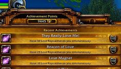 "These were the achieves I dreaded most...especially 50 stacks but I joined a group and it was actually fun! So finished up ""The Love Fool"" title this year. I love achieves! #thelovefool #worldofwarcraft #wow #wod #draenor #onlinegaming #videogames #iloveworldofwarcraft #blizzardentertainment #blizzard2016 #blizzard #geek #gamer #games #gaming #gamergirl #gamergirlforlife #mmorpg #mac #macgaming #pc #pcgaming #picoftheday #screenshot #nerd #nerdlife #alliance #horde #fun #cute by…"
