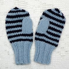 MAJAS HOBBYKROK: Enkle barnevotter (oppskrift) Knit Mittens, Baby Knitting Patterns, Baby Booties, Toddler Outfits, Knitting Projects, Knit Crochet, Knitted Baby, Diy And Crafts, Gloves