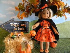 18 doll clothes Halloween costume to fit your von SewCuteJune