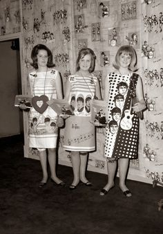 Check out the Beatles dresses!!
