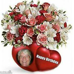 2zxda-5erh0 Floral Wreath, Happy Birthday, Wreaths, Christmas, Home Decor, Night, Happy Brithday, Xmas, Floral Crown