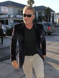 Dolph Lundgren Photos Photos - Celebrities enjoy dinner at Craig's Restaurant on July 11, 2015 in West Hollywood, California. - Celebrities Dine out at Craig's Restaurant