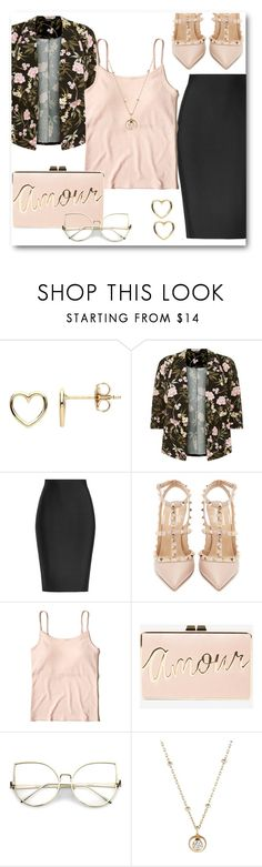 """Last Minute Date Nite"" by shaniquajenae ❤ liked on Polyvore featuring Estella Bartlett, Roland Mouret, Valentino, Hollister Co., BCBGMAXAZRIA and Hirotaka"