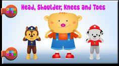 Head, Shoulders, Knees and Toes - Nursery Rhymes for Kids