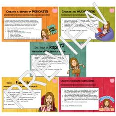End of the Year Digital Memory Projects Choice Board   TpT Apple Images, Choice Boards, 21st Century Skills, Test Prep, Writing Activities, Fourth Grade, Teaching Tools, Critical Thinking, Audio Books