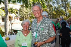 Emmanuel College Alumni St. Patrick's Event | Naples, FL | 3.15.14 - Nancy Lafleur LaPierre '63 and Terry LaPierre