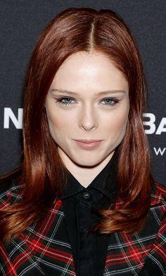 Red hairy muff