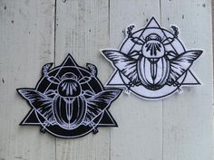 Scarab patches / Mystique  Scarab patch / iron on Patch