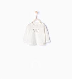 T-shirt en coton organique texte