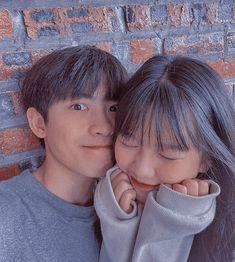 Korean Best Friends, Boy And Girl Best Friends, Cute Friends, Couple Ulzzang, Ulzzang Korean Girl, Boyfriend Kpop, Light Blue Aesthetic, Kim Sejeong, Korean Couple