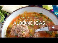 Aprende a elaborar una sopa o caldo de albóndigas con esta receta sencilla y fácil de preparar. Te va a encantar, su sabor es delicioso.