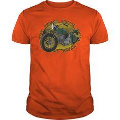 Vintage Motorcycle Antique Classic Bikers Tshirt