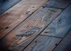 Faux gray wood plank painted subfloor this is effortless for Tobacco pine flooring