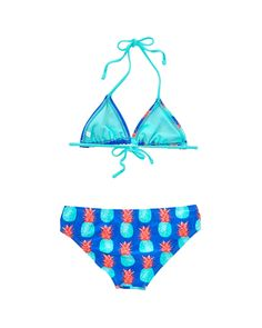 Rue La La — Raisins Girls' Pineapple Kisses Coconut Beach Set