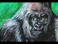 Oil Pastel Tutorial - How to Get Fine Detail With Oil Pastels (Gorilla)