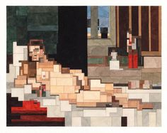 Art history reimagined by Adam Lister. - Exhibition-ism