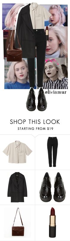 """I triedNoora Sætre p.1"" by oliviamur ❤ liked on Polyvore featuring Monki, Topshop, Proenza Schouler, Stuart Weitzman, Mimco, red, LIPSTICK, oliviamur, noora and skam"