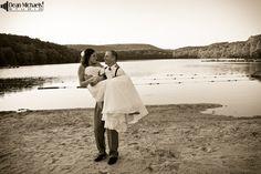Amanda & Andrew's June 2013 #wedding at the Hyatt Morristown at Headquarters Plaza, St. Pius X Church, and the Lake Valhalla Club! (photo by deanmichaelstudio.com) #njwedding #love #summer #blue #photography #deanmichaelstudio