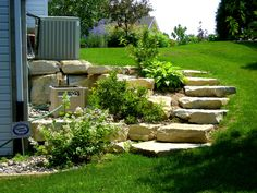 Bedroom:Alluring Ideas About Landscape Steps Landscaping Timber Stairs Slope Eebebccaeedcb Pictures Stone Garden On A Hill Hillside Diy Steep Under Rock Plans In Around Building landscaping stairs