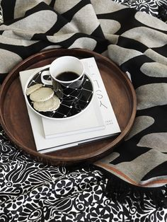 Thrilled to see the new collection in collaboration with Swedish designer Carina Seth Andersson! Carina is well known for her ceramic, pott. Interior Stylist, Marimekko, Textile Patterns, Coffee Break, Cozy House, Scandinavian Design, Hygge, Home Accessories, Sweet Home