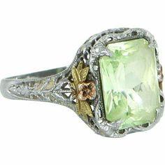 Gems Jewelry, Jewelry Accessories, Fine Jewelry, Unique Jewelry, Jewellery, Handmade Jewelry, Antique Rings, Vintage Rings, Vintage Jewelry