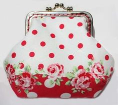 i have the fabric - need to go find an old coin purse for the top part. Yay - another reason to go thrifting!!!