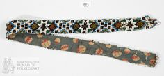 Belte - Norsk Institutt for Bunad og Folkedrakt / DigitaltMuseum Belt, Personalized Items, Beadwork, Accessories, Belts, Pearl Embroidery, Jewelry Accessories