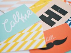 Calling Cards (Set of 10) | BRIKA - A Well-Crafted Life