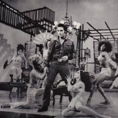 Elvis 1968 NBC TV Special - Bordello sequence not aired on original broadcast because it was deemed too racy.